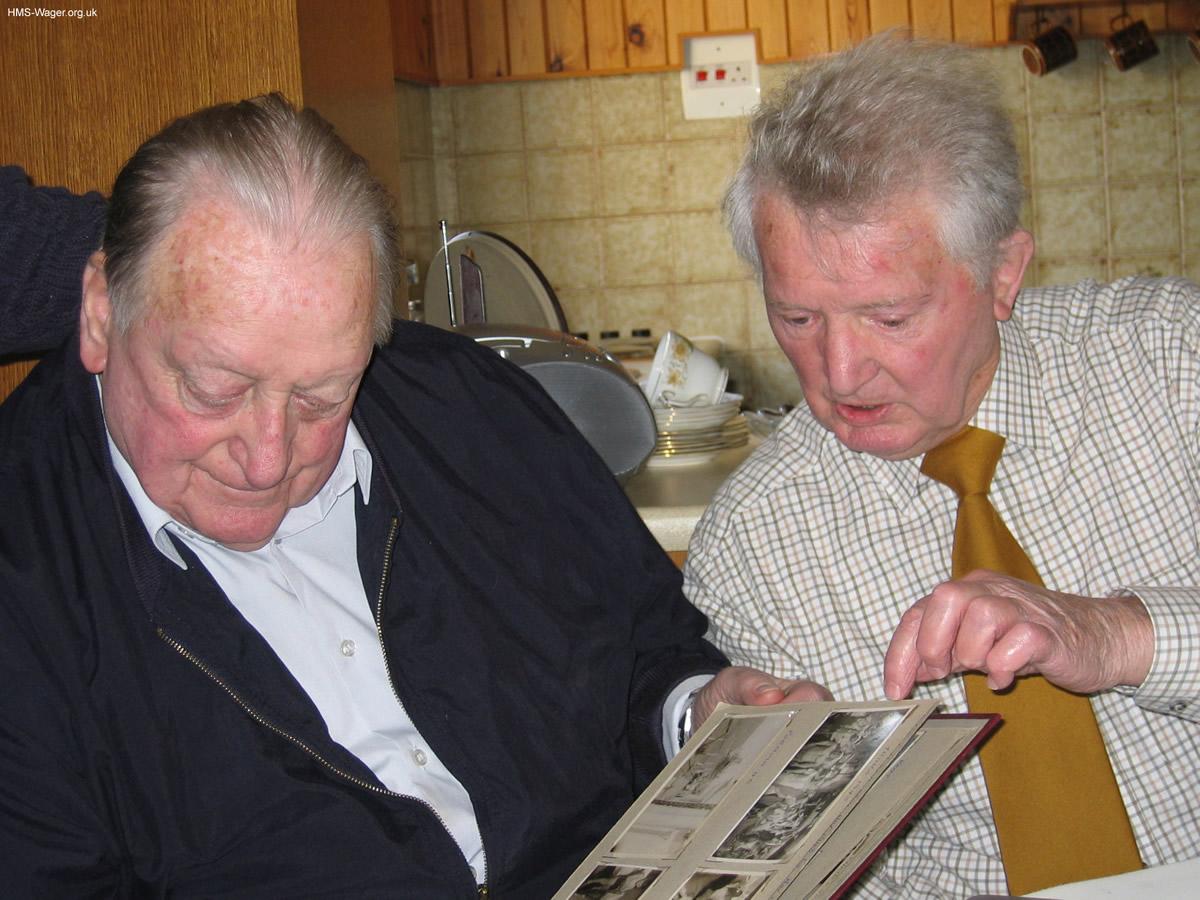 Bob Cadman & Len Ackroyd