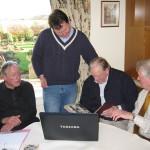 Ted Longshaw, Robert & Bob Cadman, Len Ackroyd