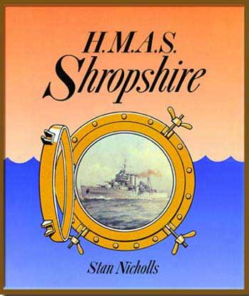 HMAS Shropshire Book Cover
